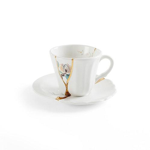 Tazzina da caffe' con piattino Kintsugi 3 Seletti