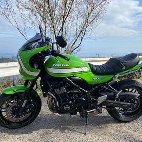 Kawasaki Z900RSカフェ