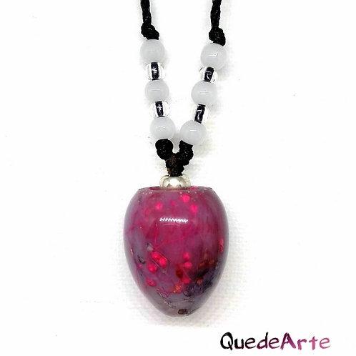 Colgante Energético Orgonita - Esfera Violeta