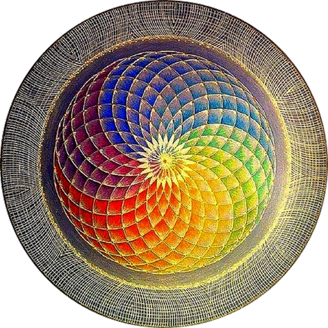 Mandala Vida y Optimismo