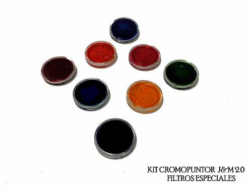 Filtros de colores para cromopuntor - Colores Especiales