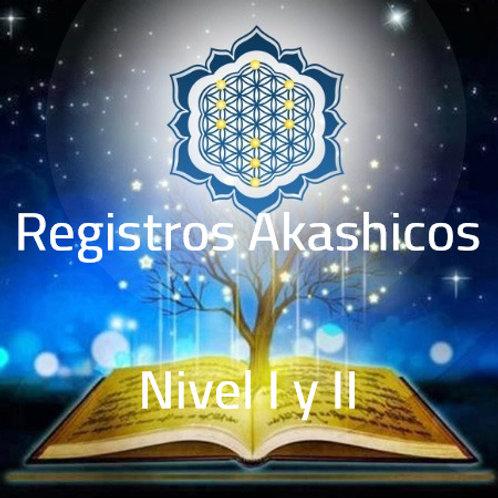 NIVEL I Y II REGISTROS AKASHICOS
