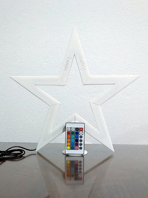 Lámpara Estrella Led (Personalizar con nombres)