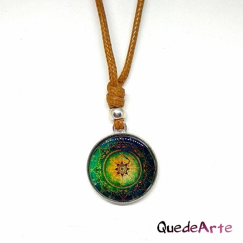 Colgante Energético Orgonita - Mandala Sagrado