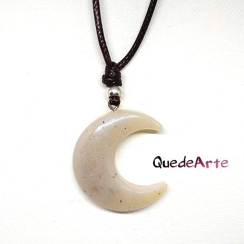 Colgante Energético Orgonita - Luna Blanca