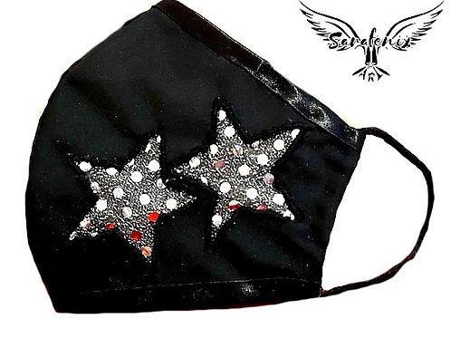 Mascarilla Diseño Estrellas