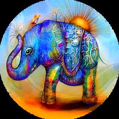 Elefante Color Sol