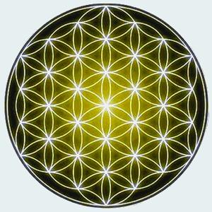 Mandala Flor de la vida salud