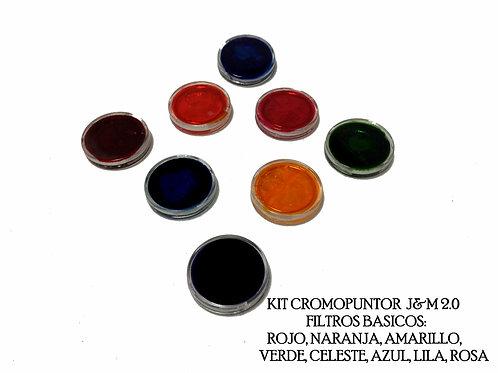 Filtros de colores para cromopuntor