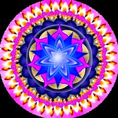 Mandala delicadeza y calma