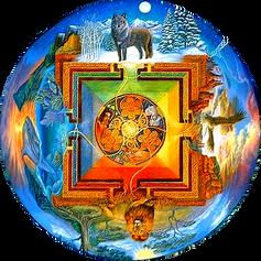 Mandala Naturaleza Viva