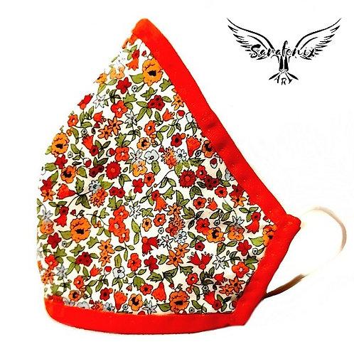 Mascarilla Diseño Florecillas
