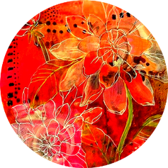 Texturas Flores Rojas