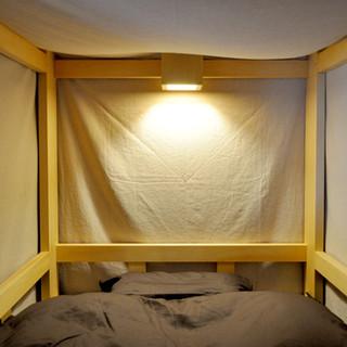 ベッド 読書灯、コンセント付き