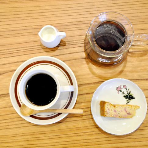 コーヒーは二杯分