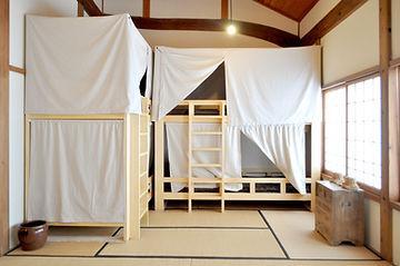 二段ベッド4台