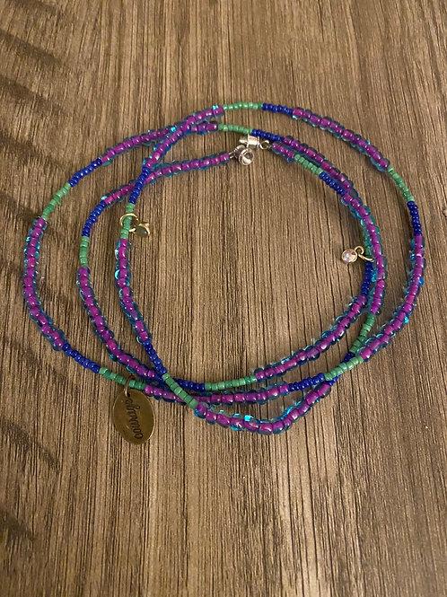 Courage- waist beads