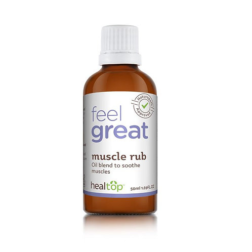 Muscle Rub - All Natural Oil Blend for Muscle Care