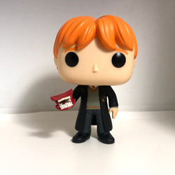 71 Ron Weasley with Howler