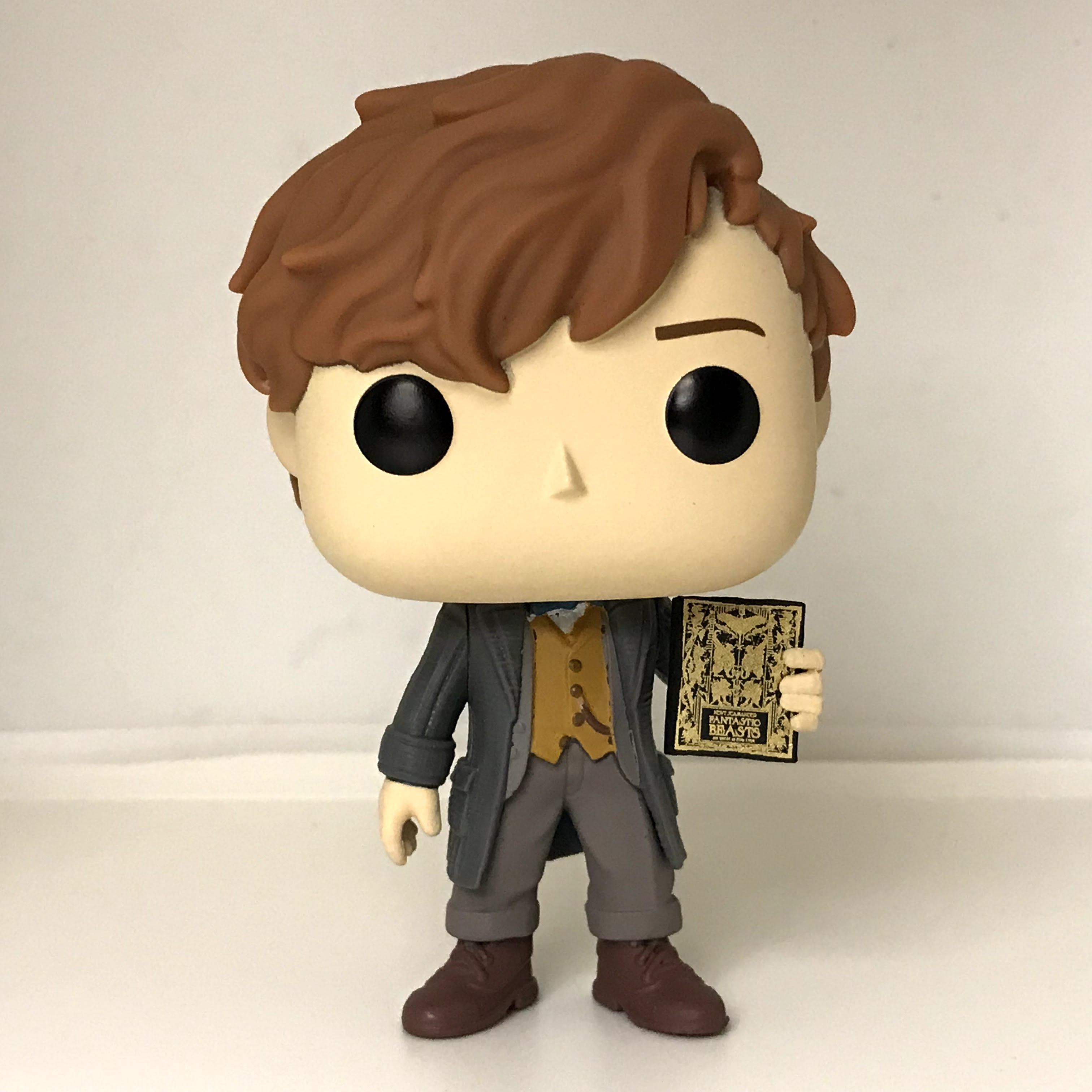 14 Newt Scamander with Book