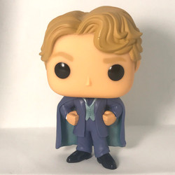 59 Gilderoy Lockhart - Blue Robes