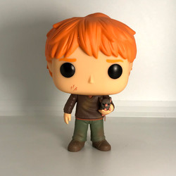 44 Ron Weasley with Scabbers