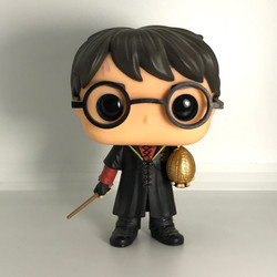 26 Triwizard Harry Potter with Egg