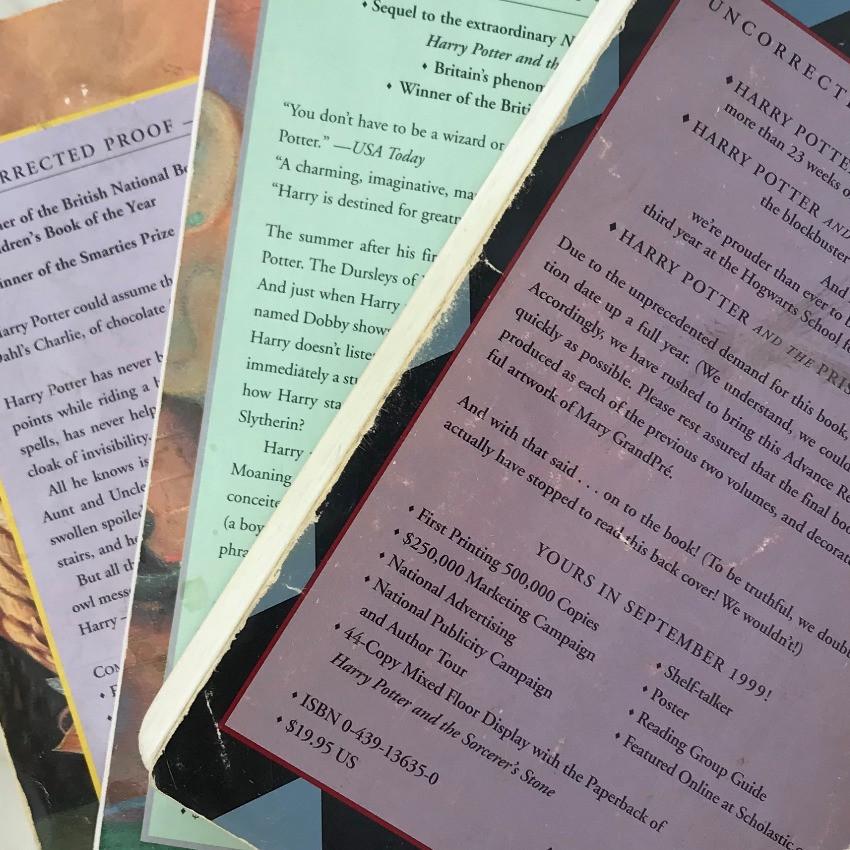 Advanced Reader Copies