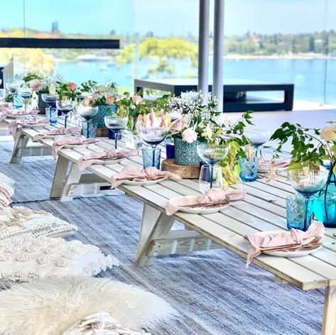Coral Bay Coast styled picnic
