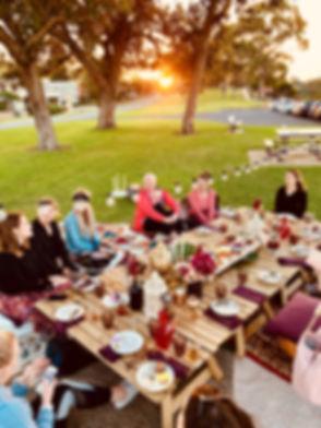 Perth Picnic Hire, boho picnic, Mosman P