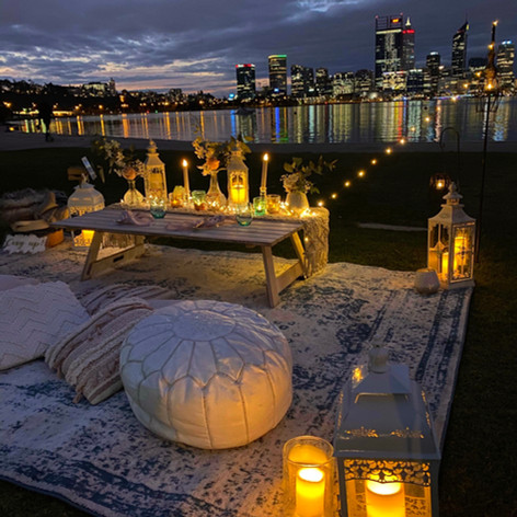 A Date night on South Perth Foreshore