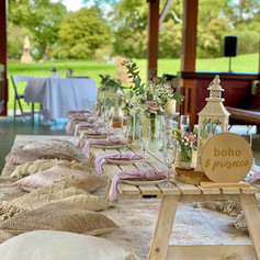 A whiter Shade of Pale for a Micro Wedding in Kings Park. These gazebos can be hired from the park in the event of bad weather