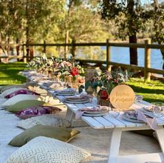 Sass & Sage styled picnic