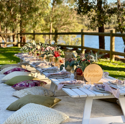 Sass & Sage styled picnic