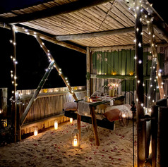 This proposal was an old run down gazebo that we brought to life