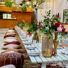 Marrakesh styled set up