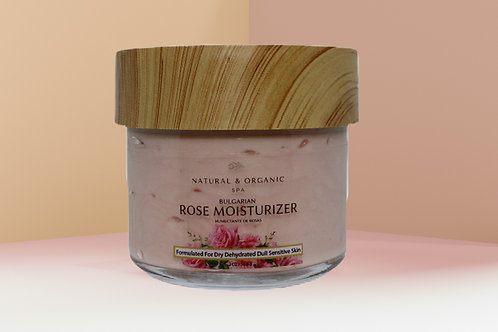 Bulgarian Rose Moisturizer/Humectante de Rosas