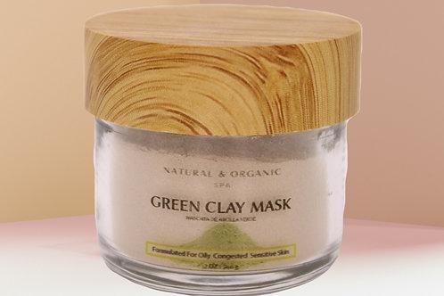 Detoxifying Green Clay Mask/Mascara  de Arcilla Verde