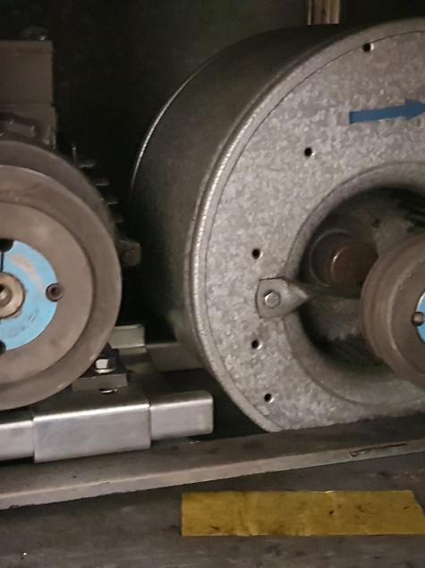 Radialventilator mit Antriebsmotor