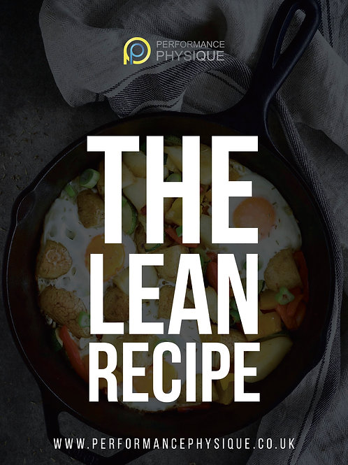 The Lean Recipe Issue 3