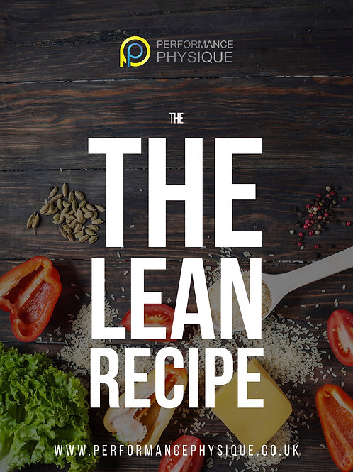 The Lean Recipe - Issue 1