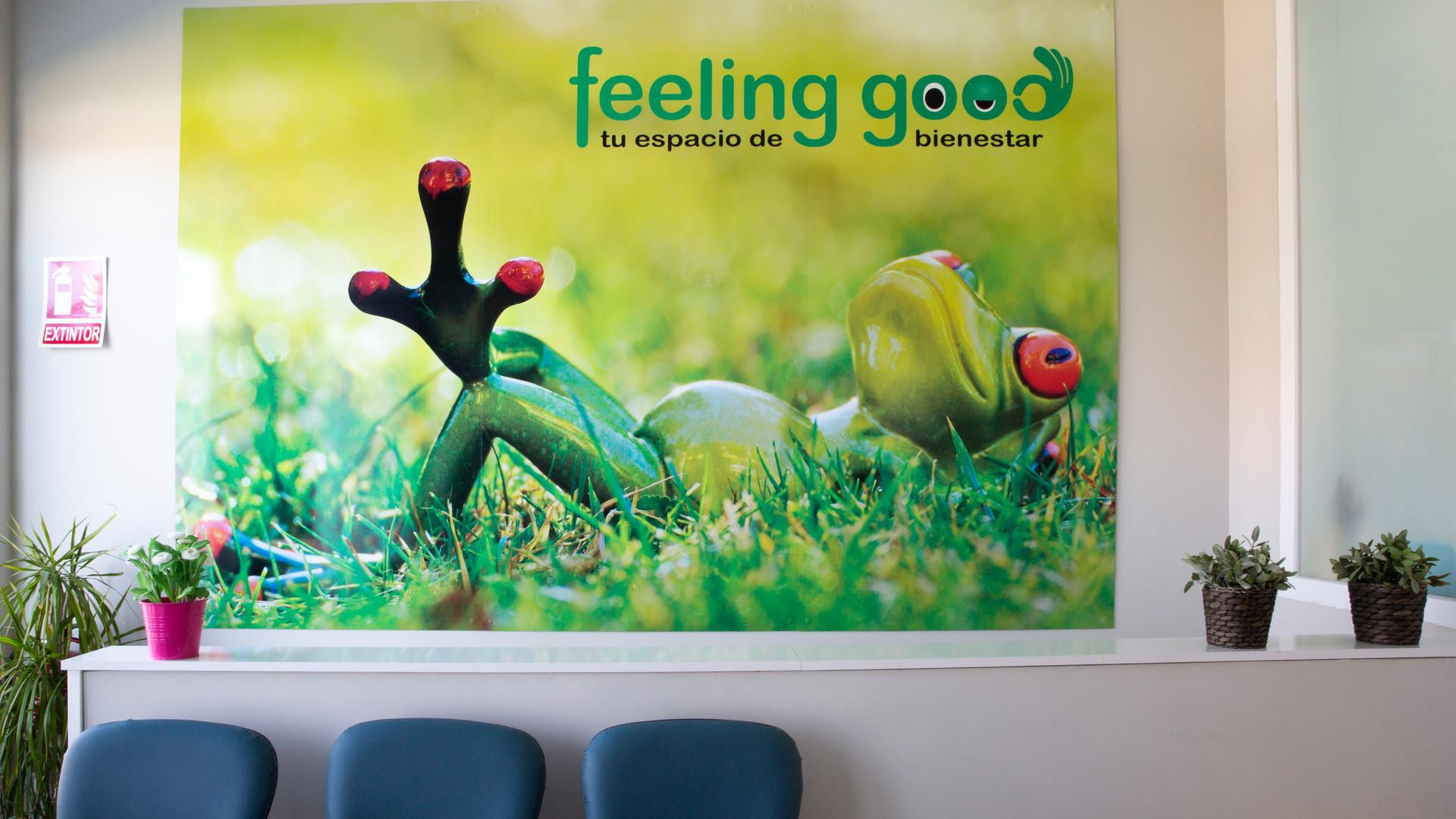 Sala de espera del Centro Feeling Good