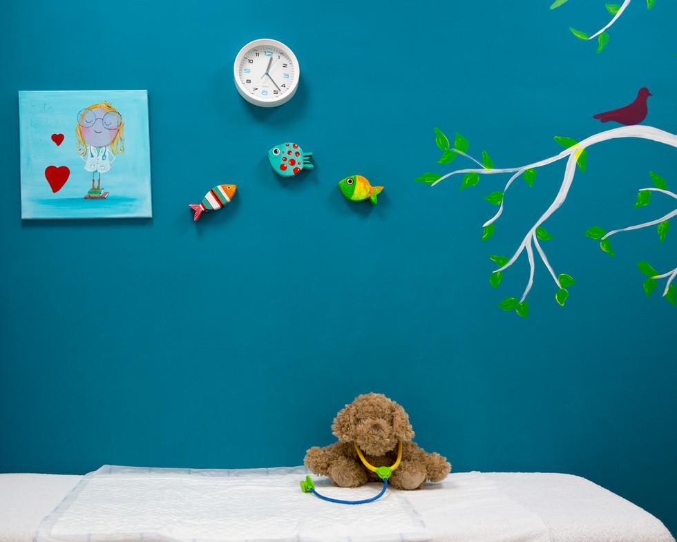 Despacho de pediatría en Centro Feeling Good
