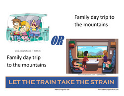 Let the train take the strain family