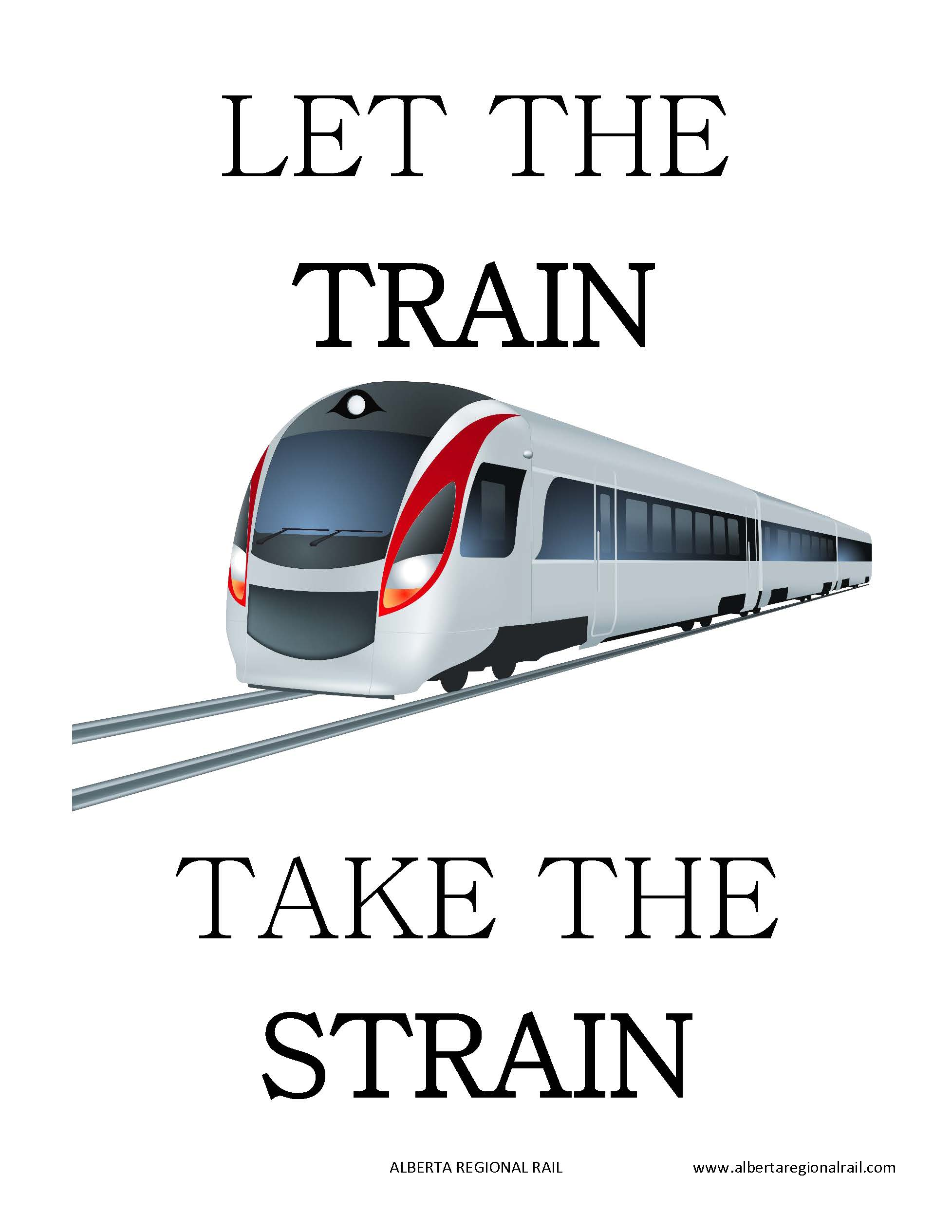 Let the train take the strain