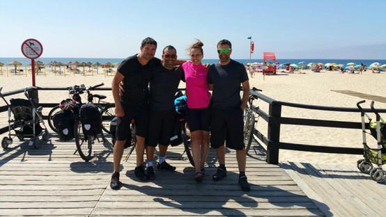 3 Portuguese cyclists & Marta