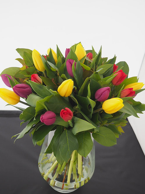 Mix Colour Tulip bouquets