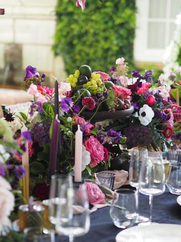 Wedding table design for summer '21