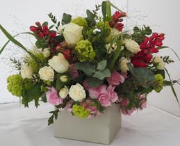 Mixed Colour Flower Box