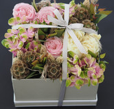 Mothers Day Gift of pink flowers